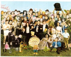Postcrossing US-5437776 (booboo_babies) Tags: jewish beatles celebrity celebrities 1960s art popart popular popculture music stars postcrossing painting