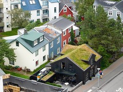 green green grass of home (kenjet) Tags: iceland reykjavik house houses home homes living buildings building colorful color street streets city green grass greengreengrassofhome roof