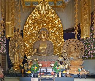 Le Bouddha Amida (temple Hase-dera, Kamakura)