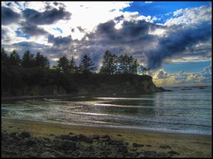 The cove... (Sherrianne100) Tags: secluded cove waves ocean pacific oregon travel usa