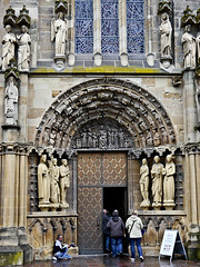 photo - Church of Our Lady, Trier (Jassy-50) Tags: photo trier germany churchofourlady church gothic door arch statue sculpture unescoworldheritagesite unescoworldheritage unesco worldheritagesite worldheritage whs