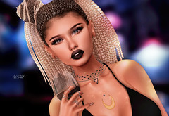 ◈№.490 - cheers! (αlιcα r. vαɴ нell) Tags: mila catwa maitreya supernatural store vanity hair lw makeup cosmopolitan tres chic event sl secondlife girl