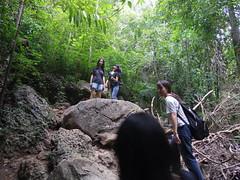 IMGP1987 (陳竹 / bamboo / Baipaii) Tags: thailand kanchanaburi waterfall erawanwaterfall onedaytrip pentaxq7 thammasat exchangestudent