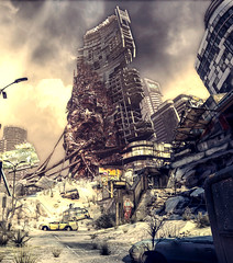 Dead City (D U B L) Tags: rage video game nvidia panorama photography cinematic screenshot pc digital 3d computer graphics gaming games gallery photo gpu id software postapocalyptic