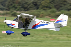 G-CCEH - 2003 build Best Off Skyranger, arriving on Runway 26L at Barton (egcc) Tags: bmaahb267 barton bestoff cityairport egcb eastham gcceh homebuilt lightroom manchester microlight rotax912 skyranger zcowners