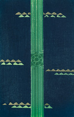 Vintage woodblock print of Japanese textile from Shima-Shima (1904) by Furuya Korin. Digitally enhanced from our own original edition. (Free Public Domain Illustrations by rawpixel) Tags: furuya korin otherkeywords tags antique asian background blue cc0 decoration design fabric furuyakorin graphic green illustrated illustration japan japanese name navy old pattern plate print printed publicdomain shimashima style textile textured vintage wallpaper woodblockprint woodcut