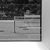 Un paseo en el metro X (Juan J. Márquez (de vuelta a la batalla)) Tags: granada andalucia españa metro transporte blancoynegro viajeros viaje urbe urbano metroligero tranvia tren vehiculo pasajeros vias ventanas asientos trenes estaciones bancon piernas ancianos ventana