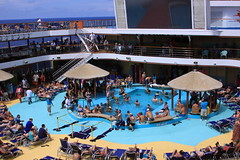 cruise pool deck (miosoleegrant2) Tags: ship deck cruise vacation sea pool swim bare chest naked swimsuit swimwear sunning male men hunk muscle masculine pecs torso guy chested buzz armpits hairy nipples abs navel outdoor water swimming sport husky burly strapping brawny speedo people belly
