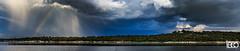 Teco_180508_5248-Pano (tefocoto) Tags: clouds embalse españa landscape madrid nature nubes pablosaltoweis paisaje reservoir spain storm teco tormenta valmayor