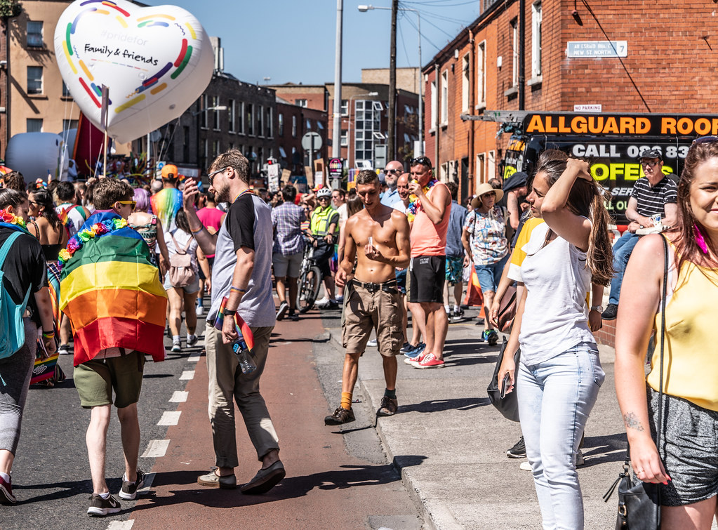 ABOUT SIXTY THOUSAND TOOK PART IN THE DUBLIN LGBTI+ PARADE TODAY[ SATURDAY 30 JUNE 2018] X-100183