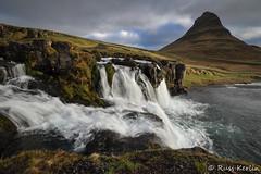 Kirkjufellfoss #1 (Russ Kerlin Photography) Tags: iceland kirkjufellfoss kirkjufell mountain waterfall water rocks