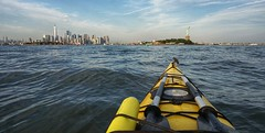 Summer Solstice in Liberty State Park. (Matthew Abdelsayed) Tags: kayak gardenstate hudsoncounty sonyimages goldenhour river water ocean