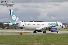 Evelop Airlines - EC-LZD - 2018.06.21 - ENZV/SVG (Pål Leiren) Tags: stavanger sola norway svg enzv flyplass airport planes plane planespotting aviation aircraft runway rw airplane canon7d 2017 airliner jet jetliner june june2018 evelopairlines eclzd evelop airlines airbus a320214w a320