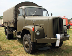 Swiss military truck (Schwanzus_Longus) Tags: bockhorn german germany swiss switzerland old classic vintage truck lorry vehicle military army saurer 2dm