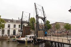 Lange Haven Schiedam (Tom van der Heijden) Tags: schiedam centrum stad zuidholland langehaven brug open ophaalbrug boot doorvaart scheepvaart canon eos eos60d canoneos60d