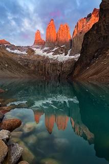 Explore. Immerse. Reflect | Mirador Las Torres, Patagonia