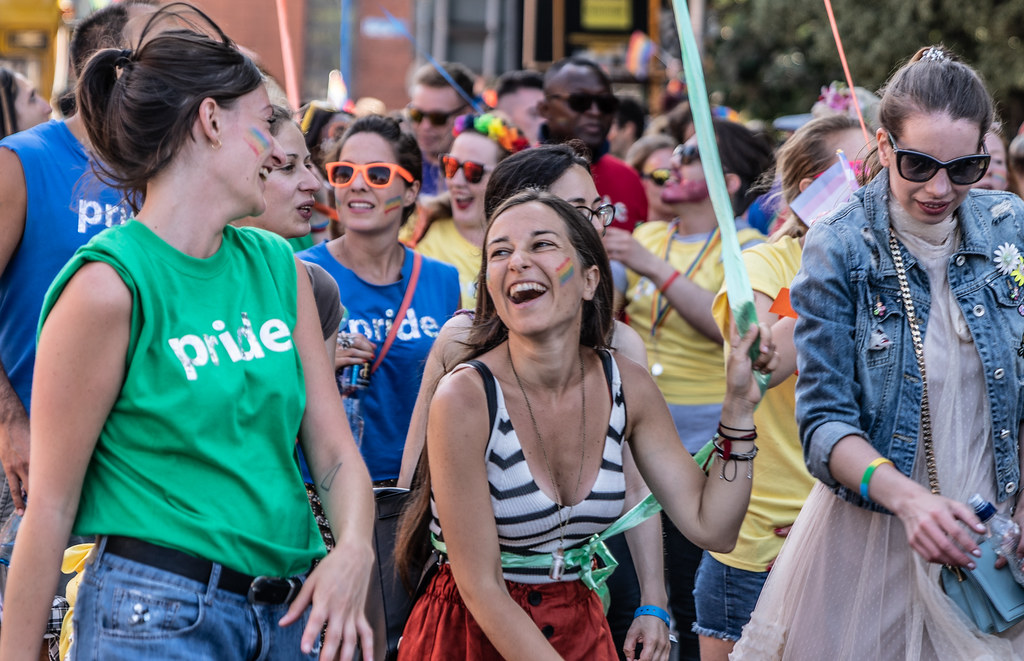 ABOUT SIXTY THOUSAND TOOK PART IN THE DUBLIN LGBTI+ PARADE TODAY[ SATURDAY 30 JUNE 2018] X-100126