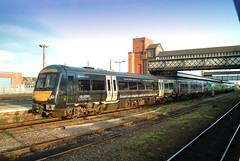 """170505 Worcester SH 020404 S Widdowson (50008""""thunderer"""") Tags: 170505 bullring livery worcester shrub hill central trains"""
