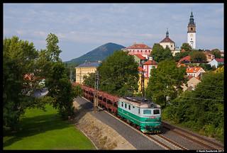 ČD Cargo 122 036, Litoměřice 24-08-2017