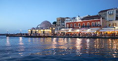 Chania Venetian Harbour - Crete (Splat Photo) Tags: venetien chania chaniacretegreece greece crete harbour sunset dusk water sea sony rx1r sonnar zeiss 35mm 35mmf2 35f2
