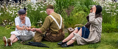 FX306364-1 Brighouse, uk, 1940's Weekend 2018 (Lawrence Holmes.) Tags: fuji fx30 1940 reenactment war army navy raf 1940s brighouse calderdale westyorkshire uk usa lawrenceholmes