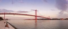 Suspension bridge at Lisbon 2018 (Gord McKenna) Tags: lisbon portugal gordmckenna gord mckenna bridge panorama ptgui