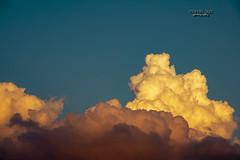 Cloud  number ... let's say 7 (mariola aga) Tags: sky clouds evening sunset light sunlight glow nature