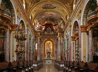 In der Jesuitenkirche in Wien