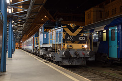 Night shift (daveymills37886) Tags: máv 460 023 budapest keleti class v46