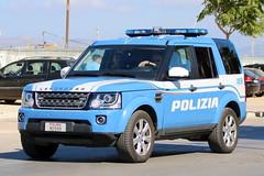 Land Rover Discovery Polizia di Stato (Helgoland01) Tags: italia italien sicilia sizilien auto landrover polizei police polizia palermo