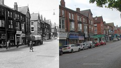 Aigburth Road, Aigburth, 1960s and 2018 (Keithjones84) Tags: liverpool oldliverpool thenandnow rephotography