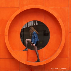 NDSM wharf, Amsterdam, the Netherlands (Ineke Klaassen) Tags: ndsm wharf amsterdam amsterdamnoord 020 orange art project scheepsbouwwerf werf sony sonyimages sonya6000 sonyalpha sonyalpha6000 sonyilce6000 ilce june 2018 circle cirkel round rond people lizafoppen artproject kunst kunstproject oranje naranja 210mm e55210mm zoomnl daughter dochter 50100fav 50fav 50faves window windowwednesday hww windowwednesdays 75faves 75fav 75favs 75100fav vividorange 5000views 6000views 80fav 80favs 80faves raam ramen circular windows sonyflickraward 6500views 90faves 90fav 90favs squaredcircle arancione