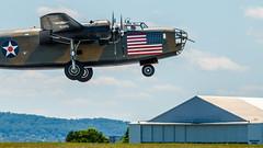 WWII_weekend-1186.jpg (gdober1) Tags: autoupload wwiiweekend worldwarii aircraft b24 liberator bomber diamondlil aviation airshow