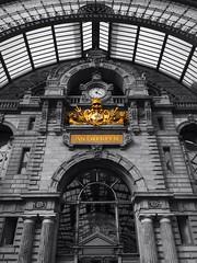 Antwerp, Central Railwaystation. (Rudike) Tags: station belgique belgium belgië railway centralstation railwaystation centraalstation antwerp anvers antwerpen