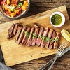 For those of you who have never tried chimichurri on bbq steak then you are missing something special #rugeronis #relish #bbq #grill #chimichurri www.rugeronis.com (Rugeronis - Simply Amazing Flavours) Tags: rugeronis bbq asado meat recipes food relish pasta argentina parrilla grill
