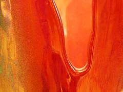 Red Vitreous China Vase 1 (oldhiker111) Tags: vitreouschina vase shiny red