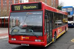 211 V211 ENU (Cumberland Patriot) Tags: trent barton skyline optare excel 211 v211enu low floor bus 199