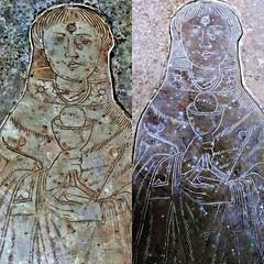 Somersham Cambridgeshire (jmc4 - Church Explorer) Tags: somersham church cambridgeshire gravestone slab brass priest chalice