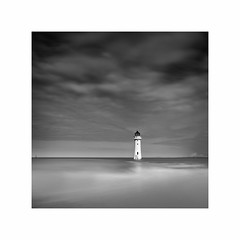 Storm Brewing (Charles Connor) Tags: perchrocklighthouse perchrock newbrighton merseyside mersey monochromeseascapes monochromelandscape monochrome blackandwhite contrast lighthouses seascapes landscapephotography landscape canon5d3 canonef24105mmlens longexposures 10stopndfilter fineartphotography fineart artistic art atmospheric