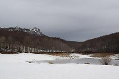 Neu a Santa Fe (Hachimaki123) Tags: paisaje landscape santafe santafedelmontseny montseny parcnaturaldelmontseny neu nieve snow lesagudes