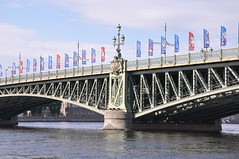 Trinity Bridge (Ryan Hadley) Tags: trinitybridge bridge worldcup rivercruise cruise nevariver river stpetersburg russia europe worldheritagesite