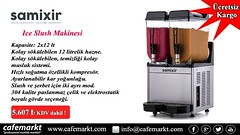 Samixir Ice Slush Makinesi (Cafemarkt) Tags: sıcak havalara karşı savunmanız buz gibi granita olsun httpswwwcafemarktcomsamixir cafemarkt samixir iceslush karbuzmakinesi granitamakinesi use ice slush machines against hot weather