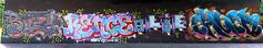 graffiti in Amsterdam (wojofoto) Tags: amsterdam graffiti streetart nederland netherland holland amsterdamsebrug flevopark hof halloffame legalwall wojofoto wolfgangjosten chuck olie bo24 rence
