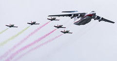 Belarusian Air Force (free3yourmind) Tags: air force belarus minsk parade mig soviet airplane plane