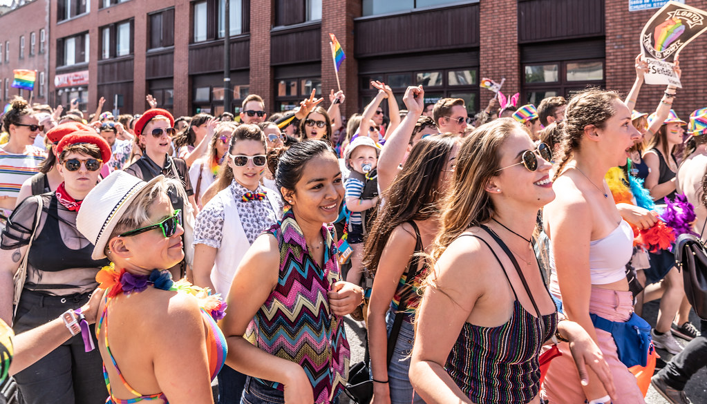 ABOUT SIXTY THOUSAND TOOK PART IN THE DUBLIN LGBTI+ PARADE TODAY[ SATURDAY 30 JUNE 2018] X-100236