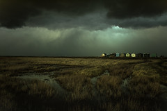 a Whitstable mood 2 (stocks photography.) Tags: michaelmarsh whitstable photographer seasalter seaside coast beach beachhuts photography moody cinematic atmospheric awhitstablemood