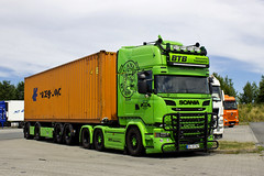 "Scania R Streamline "" BTB Baustoffe "" (D) (magicv8m) Tags: scania r streamline btbbaustoffe d tir trans transport lkw container"