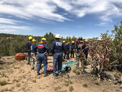 April 2018 Low-Angle Rope Rescue Operations Training