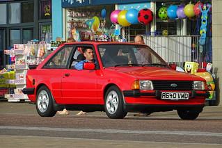 A640 VMD - Ford Escort @ Blackpool