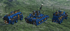 o1 SUV & o4 APC & o7 commando MBT2 (demitriusgaouette9991) Tags: lego military ldd army armored tank transport powerful apc suv railgun deadly future vehicle